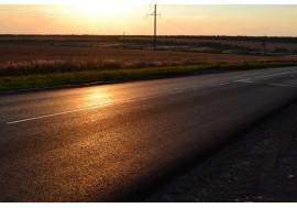 Дорога на закате
