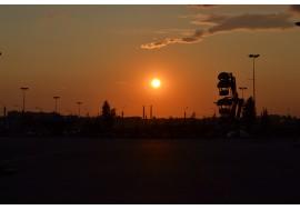 Закат в Чернобыле