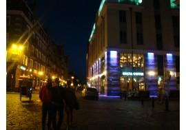 Ночной город Рига